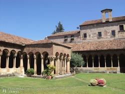 a veronai San Zeno bazilika kerengője – részlet