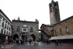Bergamo középkori főtere, a Piazza Vecchia