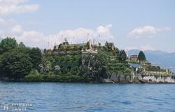 Isola Bella: a Borromeo kastély teraszos parkja