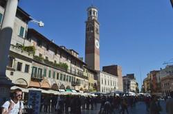 a Piazza Erbe Veronában