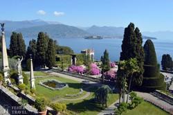 Isola Bella: a Borromeo kastély parkja