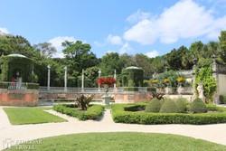 Miami: a Vizcaya-kastély parkja