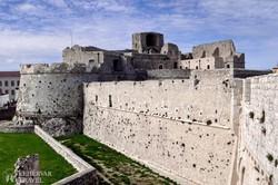 a Monte Sant'Angelo-i erőd egy részlete