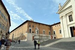 Urbino óvárosa – részlet