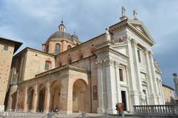 a dóm épülete Urbinoban
