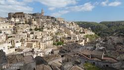 Matera szép fekvésű óvárosa