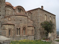 Misztra egyik bizánci kori épülete