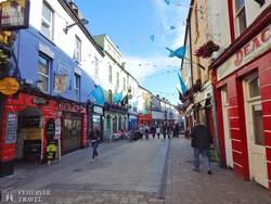 séta a High Streeten – Galway