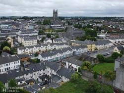 Kilkenny látképe madártávlatból