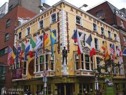 jellegzetes ír söröző Dublinban