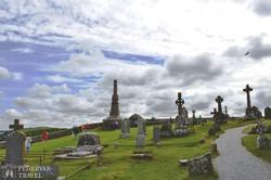 ír keresztek Cashel sziklájánál