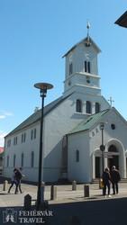 Reykjavík: a Domkirkjan katedrális