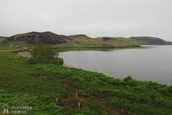 a Myvatn-tó – részlet