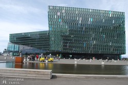 Reykjavík: a Harpa üvegpalota