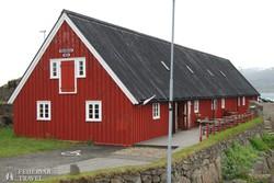 """Djúpivogur: a """"hosszú, vörös ház"""""""
