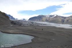 a Skaftafell-gleccser