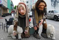 trollok Akureyri sétálóutcáján