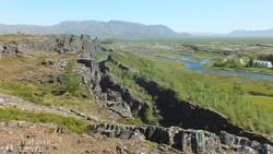 a Thingvellir Nemzeti Park – részlet