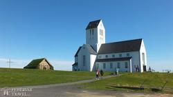 Skálholt falucska temploma