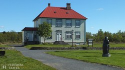 Reykjavík: az Arbaer-skanzen egyik épülete