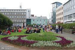 virágos park Reykjavíkban