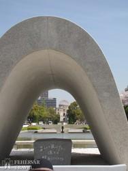 a Béke emlékpark Hiroshimában