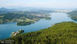 panoráma a Wörthi-tóra