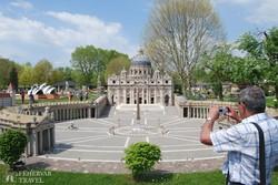 a római Szt. Péter tér a Minimundusban