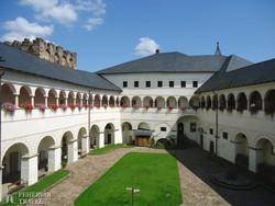 Strassburg várának gyönyörű reneszánsz udvara