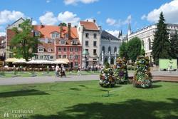 Riga óvárosa – részlet