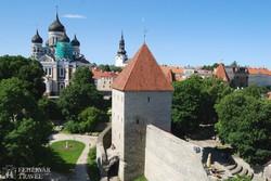 Tallinn: az ortodox katedrális