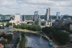 a modern Vilnius