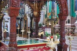 Vilnius – színek pompája az ortodox Szentlélek-templomban