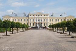 a Rundäle-kastély Lettországban