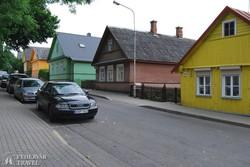 Trakai színes házai