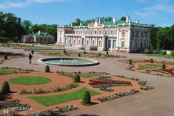 Tallinn: a Kadriorgi palota