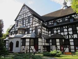 a fából épült świdnicai Béketemplom