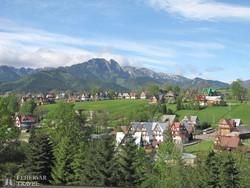 csodás táj Zakopane környékén