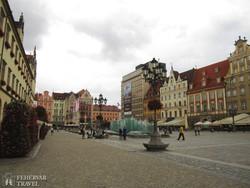 Wroclaw hangulatos főtere