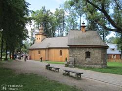 a Szent Kelemen templom Zakopánéban