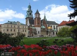 Krakkó: a Wawel katedrálisa