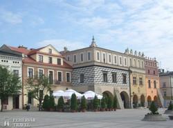 műemlékházak Tarnów főterén