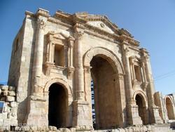 Jerash: a Hadriánus-kapu