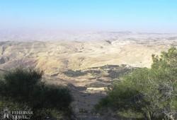 panoráma a Nebo-hegyről