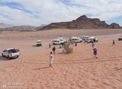 terepjárókkal Wadi Rumban