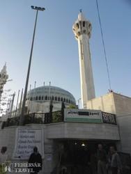 Amman: az I. Abdullah király mecset – részlet