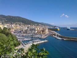Korzika második legnagyobb városa, Bastia