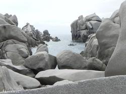 a Capo Testa különleges sziklaalakzatai – részlet