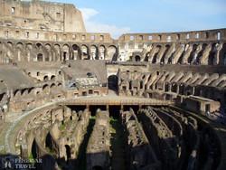 az egykor 50 ezer nézőt befogadó Colosseum