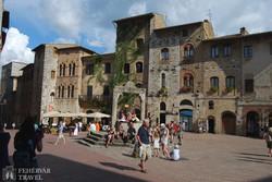 San Gimignano: a Ciszterna tér